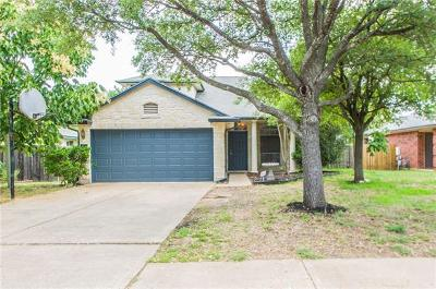 Cedar Park Single Family Home For Sale: 1214 Brashear Ln