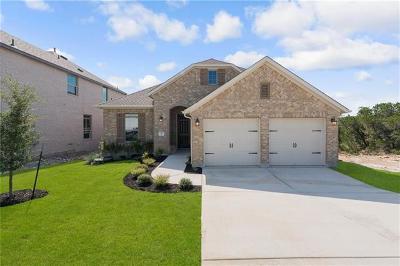 Lago Vista Single Family Home For Sale: 7712 Pace Ravine Dr