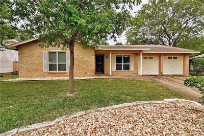 Single Family Home For Sale: 2303 Whitestone Dr