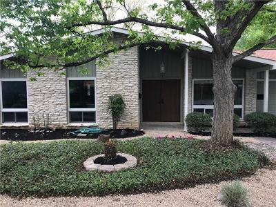 Austin Single Family Home For Sale: 5800 N Hampton Dr