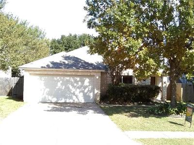Cedar Park Single Family Home For Sale: 2502 Glen Field Dr