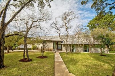 West Lake Hills TX Single Family Home Pending - Taking Backups: $1,350,000
