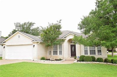 Georgetown Single Family Home For Sale: 827 Wagon Wheel Trl