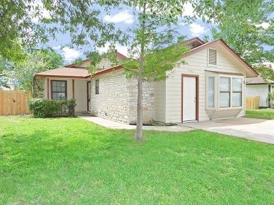Round Rock Single Family Home Pending - Taking Backups: 1303 Wayne Dr