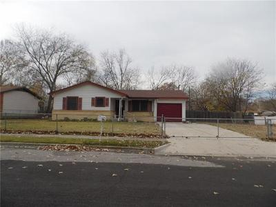Coryell County Single Family Home Pending - Taking Backups: 604 S 11 Th St S
