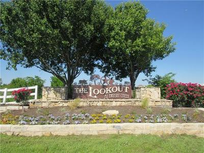 Hutto Residential Lots & Land Coming Soon: 315 Brushy Creek Trl