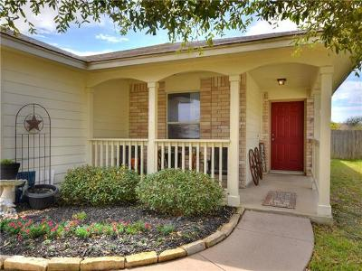 Hutto Single Family Home Pending - Taking Backups: 305 Millook Hvn