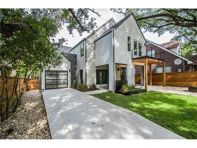 Austin Single Family Home For Sale: 4604 Avenue F