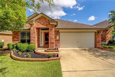 Round Rock Single Family Home Pending - Taking Backups: 1691 Hidden Springs Path