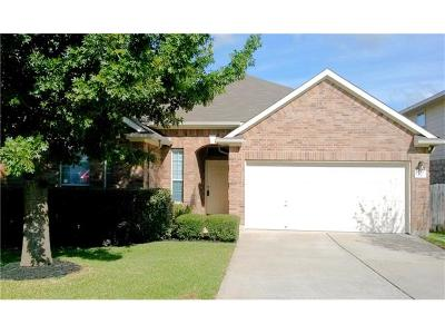 Round Rock Single Family Home For Sale: 507 Springbok Dr