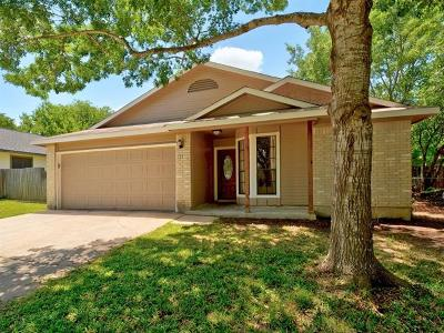 Austin Single Family Home Pending - Taking Backups: 711 Hyde Park Ct