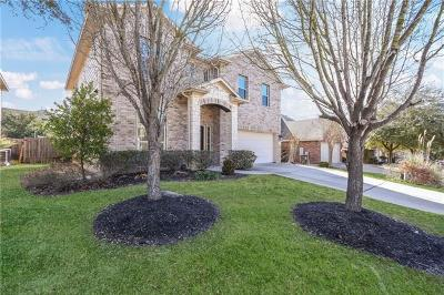 Pflugerville Single Family Home Pending - Taking Backups: 19401 Gale Meadow Dr