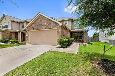 Leander Single Family Home For Sale: 136 Housefinch Loop