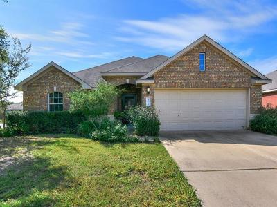 Hutto Single Family Home For Sale: 418 Peaceful Haven Way