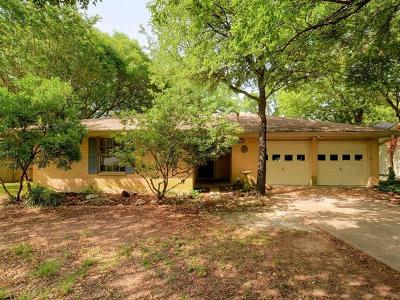 Austin Single Family Home For Sale: 4826 Canyonbend Cir