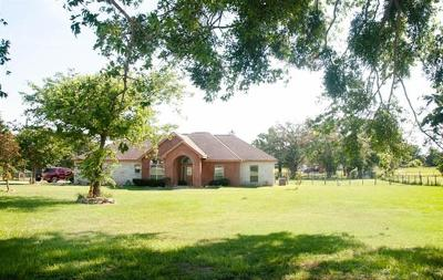 McDade Single Family Home For Sale: 269 Brown Rd