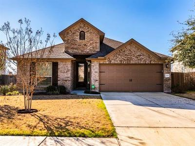 Buda Single Family Home For Sale: 2619 Garlic Creek Dr