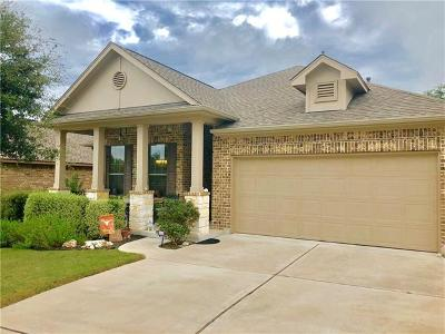 Leander Single Family Home For Sale: 2812 Granite Hill Cv