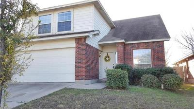 Pflugerville Single Family Home Pending - Taking Backups: 15021 Valerian Tea Dr