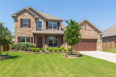 Round Rock Single Family Home For Sale: 2722 Belicia Ln