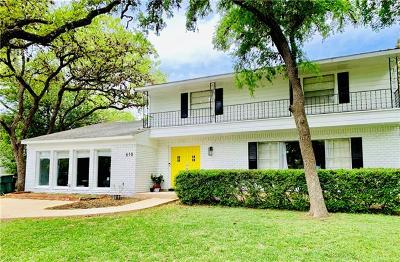 San Marcos Single Family Home For Sale: 618 Franklin Dr