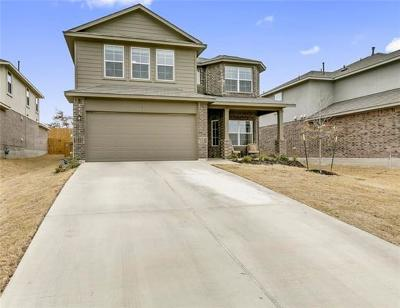 Cedar Park Single Family Home For Sale: 509 Libani Ln