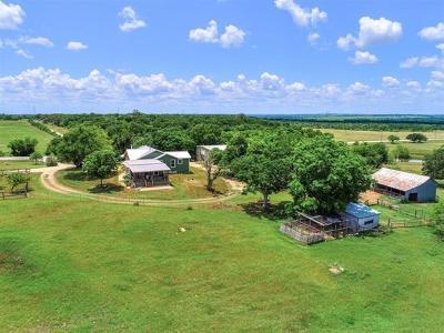Lockhart Single Family Home For Sale: 4838 Fm 2001