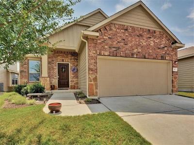 Leander Single Family Home Pending - Taking Backups: 112 Golden Eagle Ln