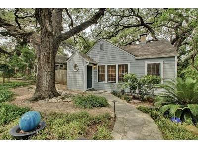 Austin Single Family Home For Sale: 1410 Alameda Dr