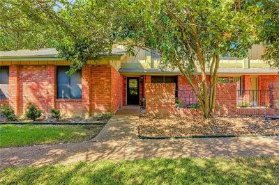 Austin Condo/Townhouse For Sale: 9511 Quail Village Ln