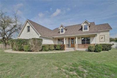 Liberty Hill Single Family Home Pending - Taking Backups: 1585 County Road 200