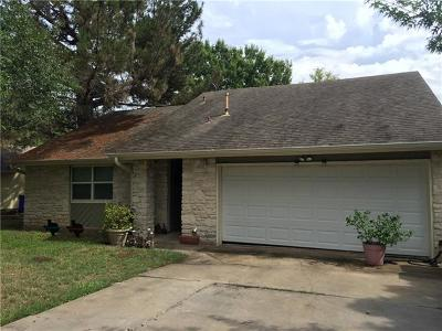 Round Rock TX Single Family Home Pending - Taking Backups: $163,700