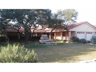 Wimberley TX Single Family Home For Sale: $492,000