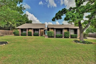 Cedar Park Single Family Home For Sale: 1605 Shenandoah Dr