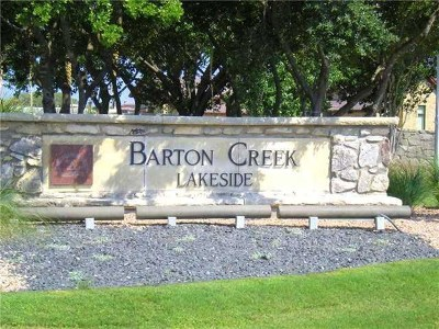 Spicewood Residential Lots & Land For Sale: 26501 Lauren Ct