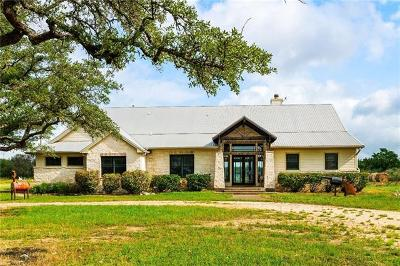 Liberty Hill Single Family Home For Sale: 9000 Ranch Road 1869