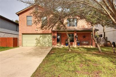 Cedar Park Single Family Home Pending - Taking Backups: 1907 Marysol Trl