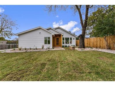 Single Family Home For Sale: 1902 Webberville Rd #B