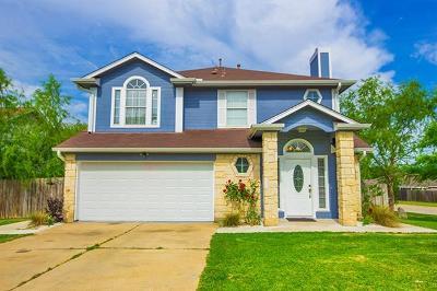 Hutto Single Family Home For Sale: 101 Estate Cv