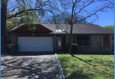 Cedar Park Single Family Home Pending - Taking Backups: 3401 Larkspur Way