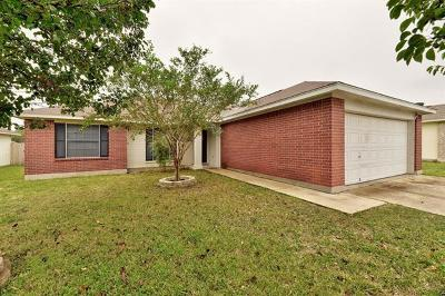 Hutto Single Family Home For Sale: 307 Willowbrook Dr