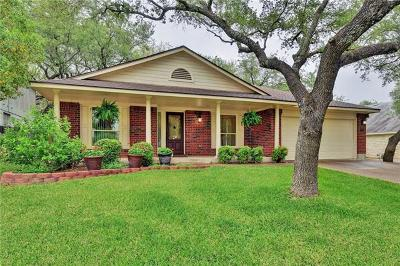Cedar Park Single Family Home Pending - Taking Backups: 2602 Grist Ln