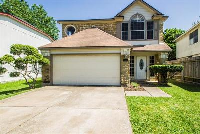 Round Rock Single Family Home For Sale: 1205 Green Terrace Dr