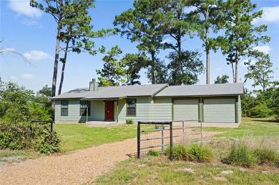 Paige Single Family Home For Sale: 180 Tonkawa Dr