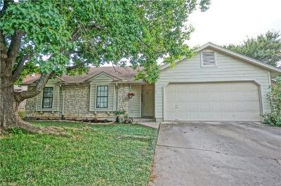 Round Rock Single Family Home For Sale: 2108 Dry Creek Dr