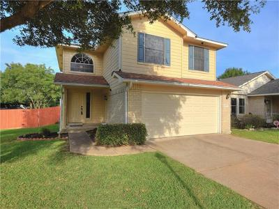 Travis County Single Family Home Pending - Taking Backups: 1838 Friars Tale Ln