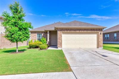 Pflugerville Single Family Home For Sale: 13601 Coomer Path