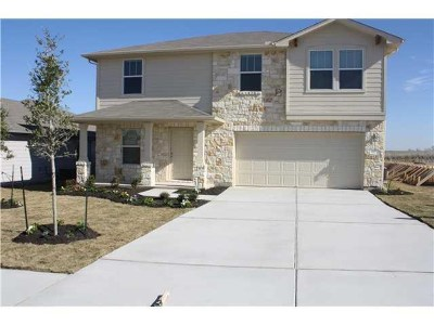 Hutto Single Family Home For Sale: 127 Lavaca Loop