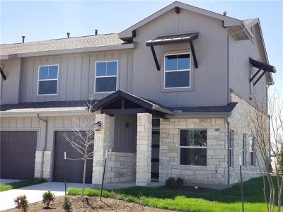 Leander Condo/Townhouse For Sale: 2049 Local Rebel Loop