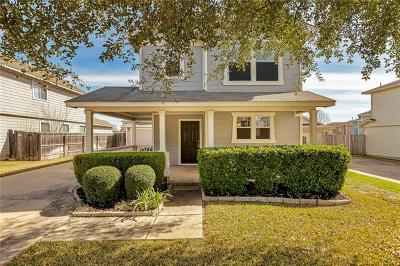 Round Rock Single Family Home For Sale: 2836 Deerfern Ln